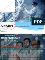 Campaña Publicitaria UnADM | Biotecnología