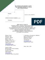 CU-CUF Texas Obamacare Amicus Brief