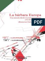 GALCERAN HUGUET, - La barbara europa.pdf