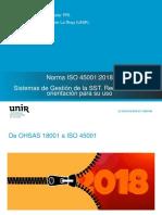 Cambio de Ohsas a ISO