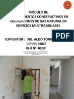 Expositor Aldo Torres Modulo III