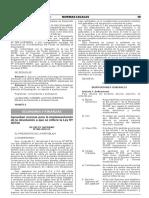 D.S. 085-2018-EF