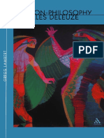Non-Philosophy of Gilles Deleuze