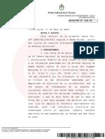 La Cámara Federal de Casación ratificó al juez Lijo a cargo de la causa contra Amado Boudou por lavado de activos y asociación ilícita