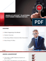 Avaya IP Office Platform Customer Presentation R10 En