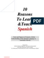 10 Reasons to Learn and Teach Spanish