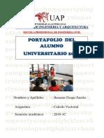 PORTAFOLIO Alumno