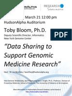 Genomic Medicine Research