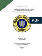 Contoh Proposal Skripsi Sistem Informasi