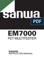 Instruction Manual EM700