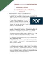 EL DERECHO DE LA SEGURIDAD SOCIAL EN LA DOCTRINA Y EN LA LEGISLACIÓN