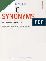 Easier English Basic Synonyms