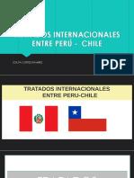 Tratados Internacionales Entre Perú - Chile
