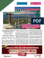 the week  el periódico de Bocagrande, laguito y Castillogrande.  Indias 9 de Septiembre a 18 de