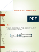 Herramienta Magnetic Flux Leakage (MFL)