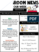 weekly newsletter  powerpoint  4