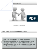 Key Account Management Presentation