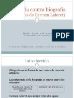 Biografía contra biografía (versión reducida)