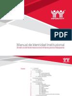 Manual de Identi Dad Institu c Ional