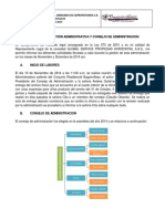Informe Gestion Administrativa 2014
