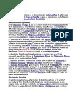 Neoplatonismo SEXTA LECTURA.