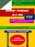 CLASE 5 Recursos Potenciales en El Perú