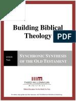 Building Biblical Theology – Lesson 2 – Transcript