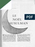 1960 Le Noël Musulman