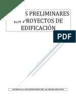 Costos Preliminares en Proyectos de Edificación