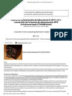Zasilacz laboratoryjny 0-30V, 1A + przeróbka zasilacza ATX