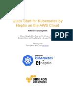 Heptio Kubernetes on the Aws Cloud