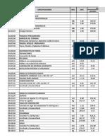 Costos y Presupuesto-Estructuras
