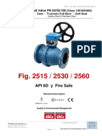 Ball Valves - API 6D - Catalogue