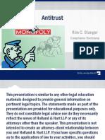 Bootcamp Antitrust