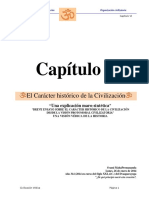 Capítulo VI El Carácter Histórico