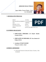 CV-junior