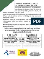 09052018 CONVOCATORIA MANIFESTACIÓN