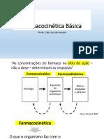 Aula 05 Farmacocinética Básica
