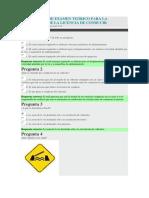 Simulador de Examen Teórico para la obtención de la Licencia de Conducir.docx