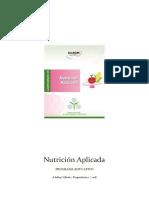 Nutrición aplicada UNaDM