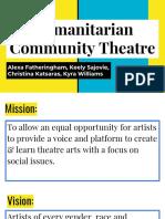 Humanitarian Community Theatre
