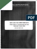 Bctc 2016 (Ktđl) - Tổng Cty Thương Mại Sài Gòn