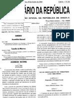 Lei 3 Ordenamento Do Territorio 2004