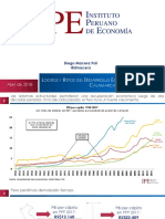 III FORO ECONOMICO-CAJAMARCA. PONENCIA DEL IPE