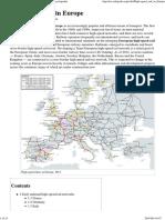 High-speed Rail in Europe - Wikipedia, The Free Encyclopedia