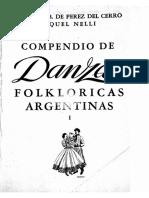 Compendio de danzas folklóricas Argentinas