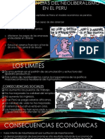 Neoliberalismo en El Peru