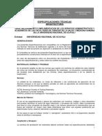 Especificaciones-tecnicas-Arquitectura-respaldo Para Ing 17-09-16
