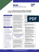 ESPatrol - SAP Job Scheduling Tool