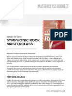 Ignazi Di Salvo - Symphonic Rock Masterclass